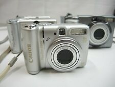 Lot of 4*Cannon Powershot A580, A 95, A40 A60 A70 Digital Camera SEE NOTES