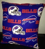 Bills Pillow NFL Pillow Buffalo Bills Pillow Football Pillow HANDMADE In USA