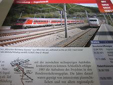 Archiv  Eisenbahnstrecken 901 Nürnberg Ingolstadt