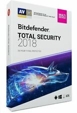 BitDefender Total Security Multi Device 2018 5 Devices 1 Year Retail DVD