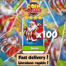 Coin Master - Santa (100 pièces)