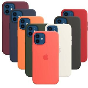 Custodia in Silicone originale per iPhone X XS Max XR 7 8+ 11/12 Pro&Max SE2020