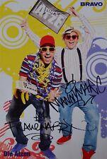 DIE ATZEN - Autogrammkarte - Autogramm Manny Marc Frauenarzt Fan Sammlung