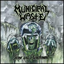 Municipal Waste - Slime and Punishment CD 2017 crossover thrash Nuclear Blast