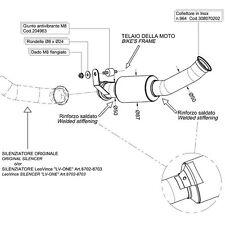 KTM 690 DUKE 12> LEOVINCE DECAT EXHAUST ELIMINATES CATALYST *IN STOCK*FAST SHIP*