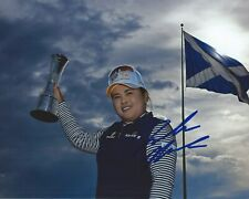 Inbee Park Signed 8×10 Photo LPGA Autographed COA B