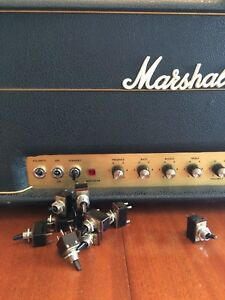 "Marshall JMP ""Black Bat"" OEM 1970's Restoration Switch!!"