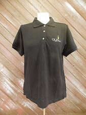Harrington Polo Shirt AYS Kids Youth Large Black New With Tags