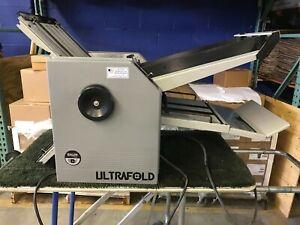 BAUM ULTRA FOLD 714D FOLDER with destatic ionizer