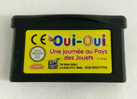 Jeu Game Boy Advance GBA en loose  Oui Oui Une journee au Pays des Jouets  FRA