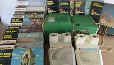 Talking View-Master Lot - Projector - 2 View-Masters - 16 Boxed Sets of Reels