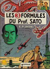 les 3 formules du Prof.Sato  E P JACOBS   Dargaud éditeur Mortimer à Tokyo 1977