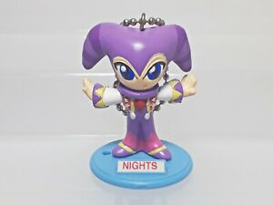 "NIGHTS into Dreams Figure Keychain SEGA 1996 Prize Toy Japan 1.8"""