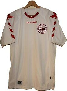 EURO 2004 DENMARK Football SHIRT Jersey HUMMEL size M Tricot Maglia Camiseta