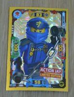 Lego® Ninjago Serie 5 Trading Card Game limitierte Auflage LE17 Action Jay