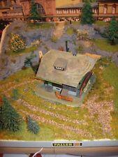 """Bauernhof""""Schwarzwald""""mit Beleuchtung.Modellbau,Modelleisenbahn,Diorama H0 1:87"""