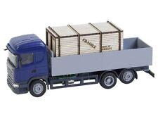 FALLER 161597 LKW Scania R 13 HL Pritsche mit Holzkiste (HERPA) H0