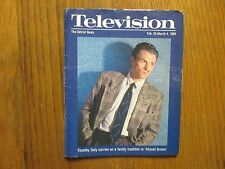 February 26, 1989 Detroit News Television Magazine(TIMOTHY  DALY/ALMOST  GROWN)
