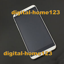 Full LCD Screen Touch Digitizer Frame For HTC Desire 816G 816H D816G D816H White