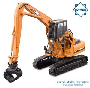 Conrad 2200 Case CX240B MH Demolition Excavator OEM Version 1/50 Die-cast MIB