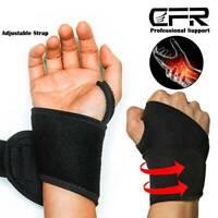 Wrist Band Support Bandage Brace Compression Carpal Tunnel Syndrome Sport Strap
