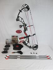 PSE Drive-R Right Hand Skullworks 2 Camo Compound Bow package 40-60# Black
