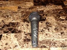 Scott Weiland Signed Microphone Stone Temple Pilots Velvet Revolver RARE + Photo