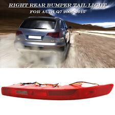 Rear Right Side Lower Bumper Tail Light Reverse Stop Fog Lamp For Audi Q7 06-15