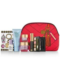 New Estee Lauder 7 Piece Skincare & Makeup Set-Resilience+Perfectionist+More