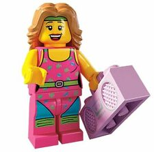 Lego Minifigures Serie 5 Minifigura Fitness Instructor 8805 Nuevo 100% Original
