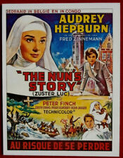 AUDREY HEPBURN - Individual Card # 05 - from Movie Idols Set - THE NUN'S STORY