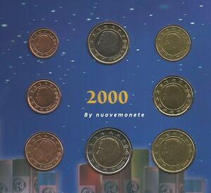 BELGIO BELGIQUE 2000 ANCHE SINGOLE MONETE UNC/BU SCEGLI QUELLE CHE TI SERVONO