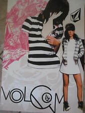 New Volcom Poster Cool! Unique with girl L@K!