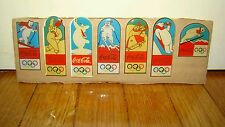 7 SPILLE PINS - COCACOLA COKE - OLIMPIC GAMES ORSO - BADGE PATAS STIFTE BROCHES