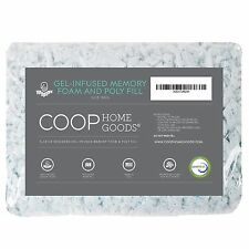 Coop Home Goods - Adjustable Shredded Gel Memory Foam and Poly Fiber Fill - 1/2