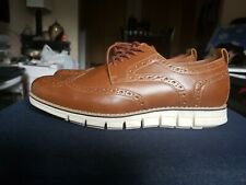 acf245a038161 Sonoma Good for life Wingtips Mens Tan Shoes Vitalize Ortholite Size 11 NWOB