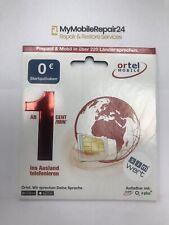 Ortel SIM-Karte Prepaid + 30GB Internet in DE / EU(REGISTRIERT)