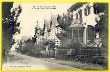 cpa 44 - LA BAULE en 1943 (Loire Inf.) Avenue CORNIL vers la MER VILLAS Favorita