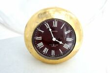Vintage German EUROPA Music Alarm Clock 7 Jewels Made in Garmany roman numbers