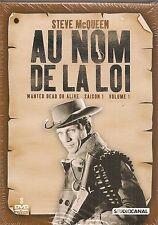 """""""Au nom de la loi : saison 1, vol.1""""  3 DVD -Steve McQUEEN   NEUF SOUS BLISTER"""