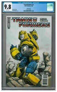 Transformers #2 (2009) IDW Comics Variant Cover CGC 9.8 KR483