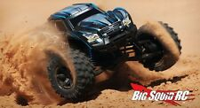 "Traxxas 1:6 X-Maxx 8S Brushless TSM 4WD Monster Truck RTR 29.8"" Blue 77806-4"