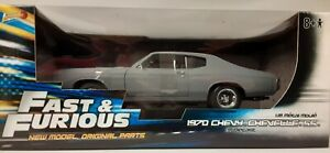 """1:18 """"Johnny Lightning"""" 1970 Chevy Chevelle SS """"Fast & Furious"""""""