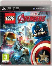 Lego Marvel Los Vengadores Para PAL PS3 (nuevo Y Sellado)
