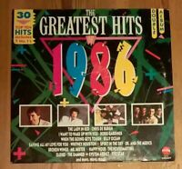 Various – The Greatest Hits Of 1986 Compilation 2× Vinyl LP 33rpm STAR 2286