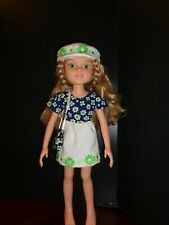 "PRETTY DAISY DRESS OUTFIT FOR 18"" BFC INK DOLLS"
