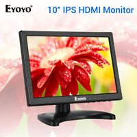 "Eyoyo 10""Zoll IPS HDMI Monitor 1280x800 BNC / VGA / AV Eingang 178 Grad für CCTV"