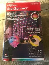 LightShow Projection Star Spinner LED Lights RGBW  Remote Control party