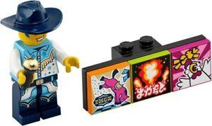 LEGO FIGURINE DISCOWBOY SERIE 1 VIDIYO REF 43101 *NEUF*