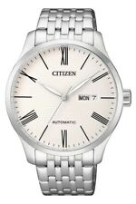 CITIZEN NH8350-59A Automatic White Dial Stainless Steel Bracelet Men's Watch